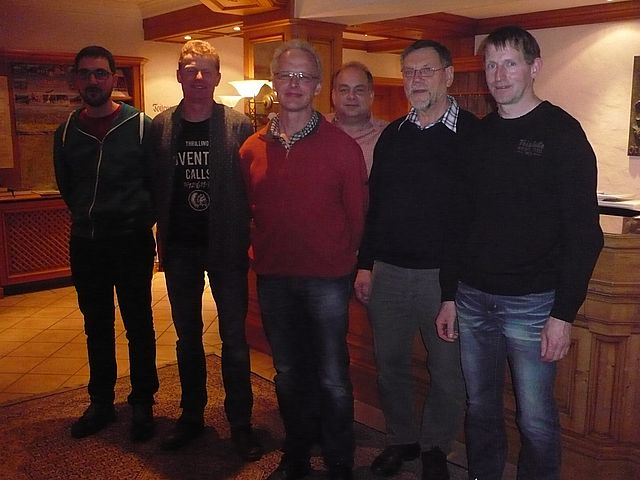 Der neue Vorstand der FBG (von links): Daniel Armbruster, Stefan Schmieder, Kurt Armbruster, Frank Schmid, Hermann Schmid, Bernd Dieterle